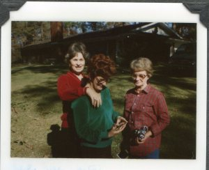 The sisters (my mom is in the green shirt), Shreveport, LA  1979.
